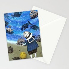Day on the Beach Stationery Cards