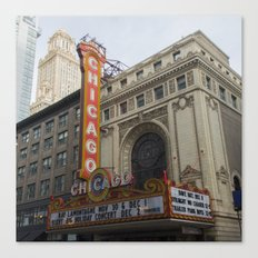 Chicago Theatre Canvas Print