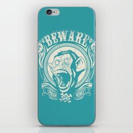 Urban monkey iPhone Skin