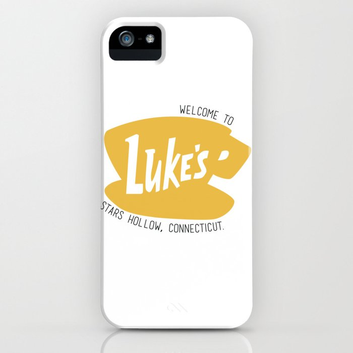 lukes diner iphone case