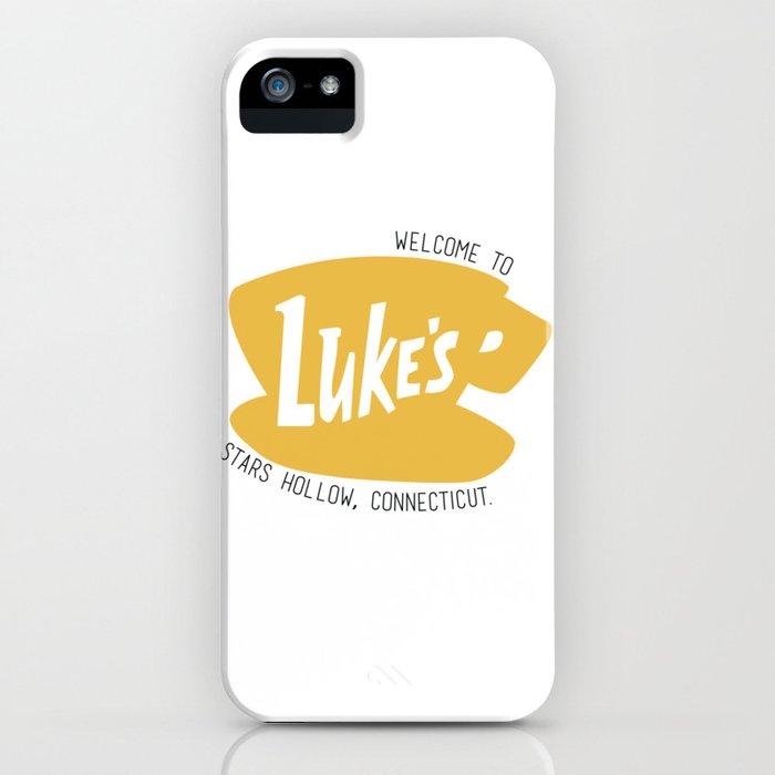 Lukes Diner iPhone Case