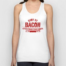 body by bacon Unisex Tank Top
