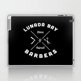 Barber Shop : Lunada Bay Barbers B&W Laptop & iPad Skin