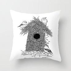Rebuild Throw Pillow