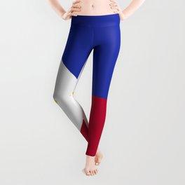 Philippines flag emblem Leggings