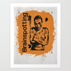 Brainspotting Art Print