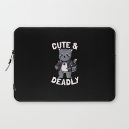 Cute and Deadly Laptop Sleeve