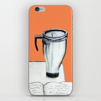 coffee iPhone & iPod Skins featuring Coffee  by Brontosaurus