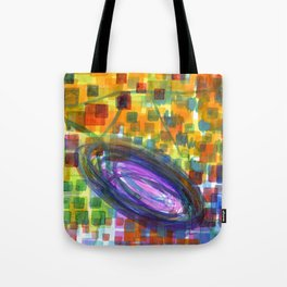 Joyful Whirl of Colors  Tote Bag