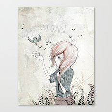 My Heart Carries Me Through Canvas Print