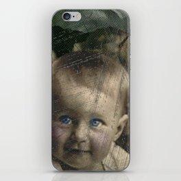 Baby Blue Eyes iPhone Skin
