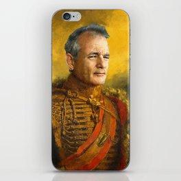 Bill Murray, Comedian, Classical Painting Portrait, Regal art, General, Actor iPhone Skin