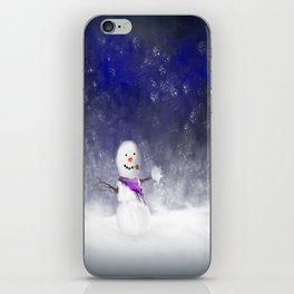 Snowball Fight!!!.....I Think So! iPhone Skin