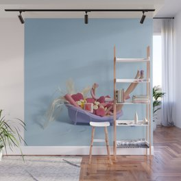 Sugar bath Wall Mural