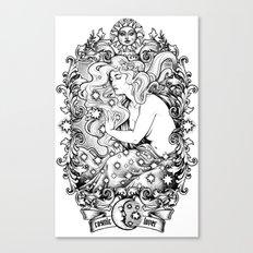 Cosmic Lover Canvas Print