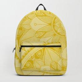 Mustard Mandala 4 Backpack