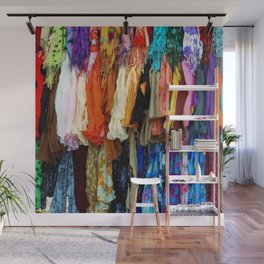 Gypsy Rags and Ruffles Wall Mural