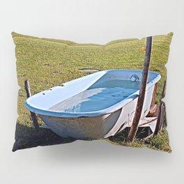 Outdoor pool   conceptual photography Pillow Sham