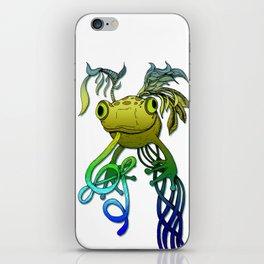 Psychoactive Frog iPhone Skin