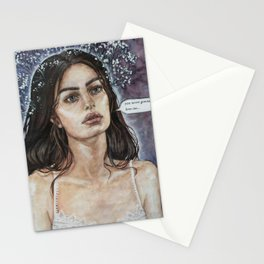 """You never gonna love me"" Stationery Cards"
