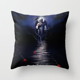 Sea of Remorse Throw Pillow