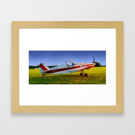 Tow Plane, Philadelphia Glider Council Framed Art Print