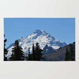 Snow Cap on the Mountain Rug