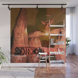 The angel of death Wall Mural