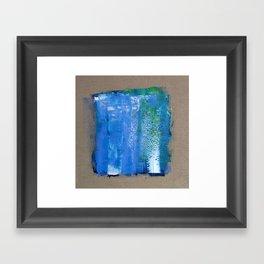 SCRAPED Framed Art Print
