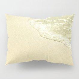 beach sparkling golden sand Pillow Sham