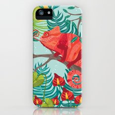 The Red Chameleon  Slim Case iPhone (5, 5s)