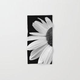 Half Daisy in Black and White Hand & Bath Towel