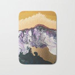 TIDAL WAVE | Abstract acrylic art by Natalie Burnett Art Bath Mat