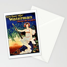 Waterman fountain pens 1919 Stationery Cards