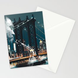 Jazz in New york Stationery Cards