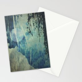 dreaming under the birch Stationery Cards