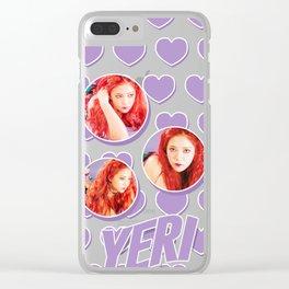 Red Velvet Yeri - Russian Roulette Clear iPhone Case