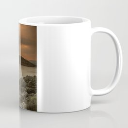 Sunset over Lismore Island of the shores of Oban in the west of Scotland. Coffee Mug