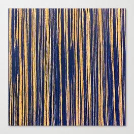 Vertical Scratches on Royal Purple Metal Texture Canvas Print