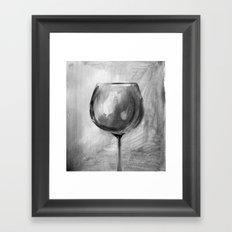 B&Wine Framed Art Print