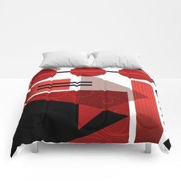 AZTEC DESERT | red Comforters