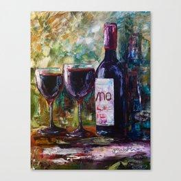 """Aged Wine"" Canvas Print"