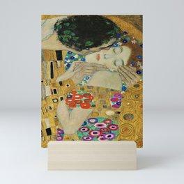 The Kiss--- Gustav Klimt (detail) Mini Art Print