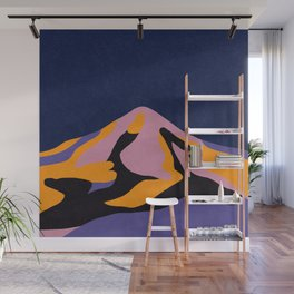 Over The Sunset Mountains II Wall Mural
