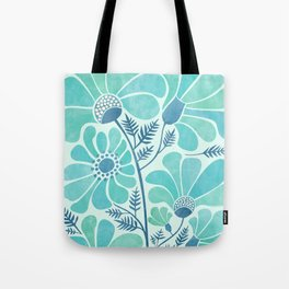 Himalayan Blue Poppies Tote Bag