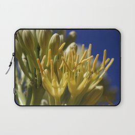 Closeup of Blossoming Parry's Century Plant Laptop Sleeve