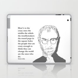 Steve Jobs - the crazy ones Laptop & iPad Skin