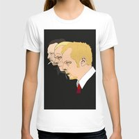 shaun of the dead T-shirts featuring Simon Pegg - Shaun Of The Dead, Hot Fuzz and The World's End by Tomcert