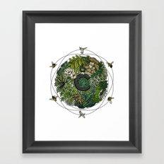 Element of Life Framed Art Print
