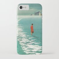 cities iPhone & iPod Cases featuring Waiting For The Cities To Fade Out by Frank Moth